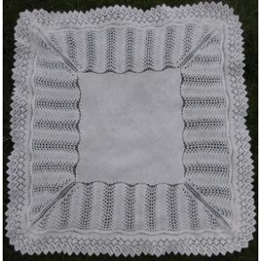 European Royal Baby Shawl Patterns